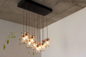 Mason Jar Chandelier 10 Steps With Pictures Instructables