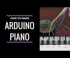 Arduino Tutorial : Mini Piano