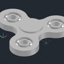 Print in Place Fidget Spinner VERSION 2!