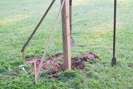 Dig the Hole and Set the Pole