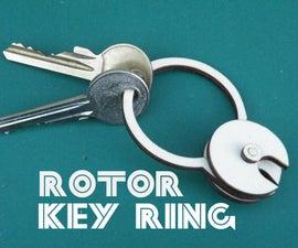 Rotor Key Ring