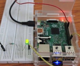 How to Make Your First  Simple Led Blink Project in Raspberry Pi2