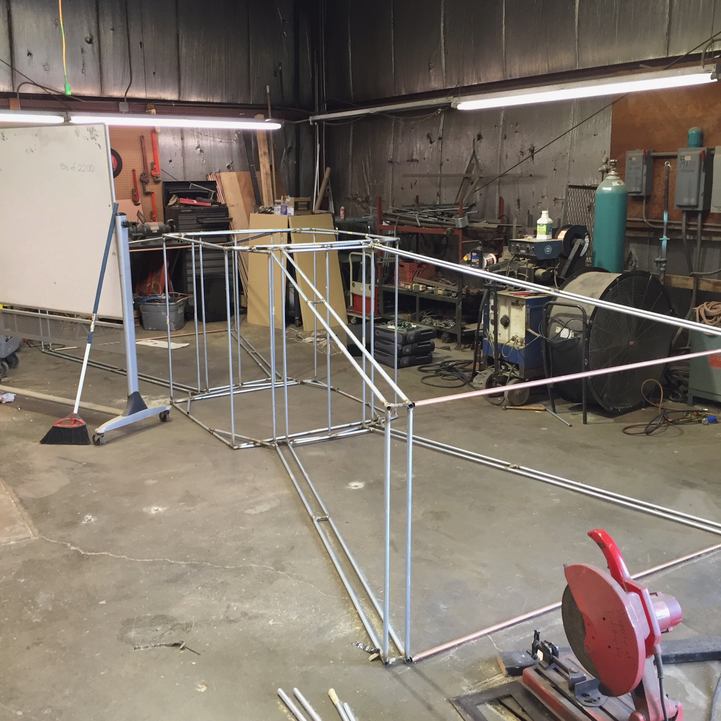 Picture of Building the Structure.
