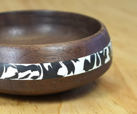 Milliput Bowl Inlay