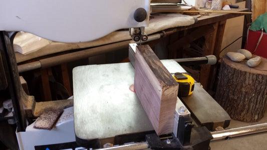 Splitting on the Bandsaw