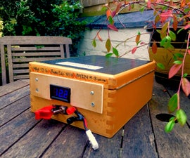 Recycle Laptop Batteries - 12V Power Wall/Box!