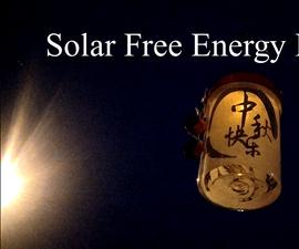 How to Make Solar Free Energy Lantern for Mid-Autumn Festival