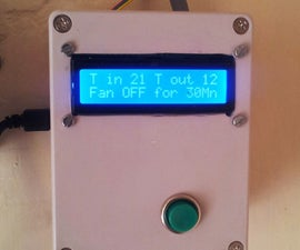 Home Ventilation Fan Controller Using an Arduino UNO, and Bi-Stable Relay