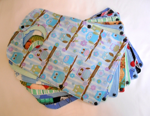 Picture of Fold Up and Snap Bibs