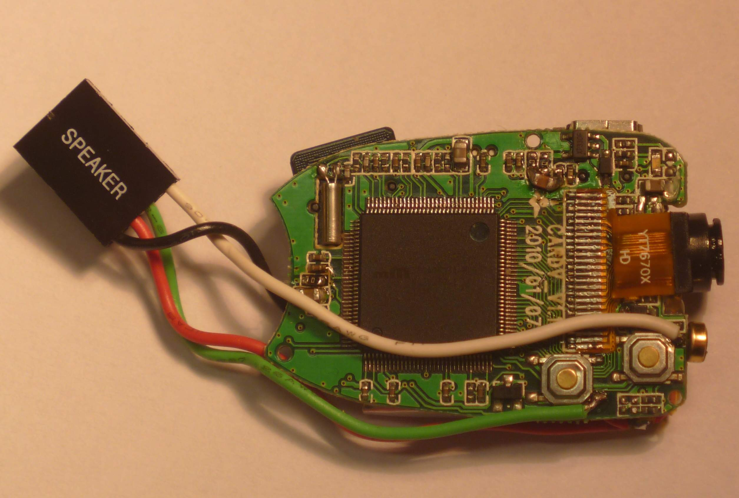 Picture of Keychain 808 Spy Camera With PIR Motion Detector Controlled by Arduino Chip