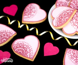 How to Make Beautiful Valentines Heart Cookies