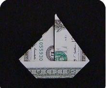 MONEY SAILBOAT