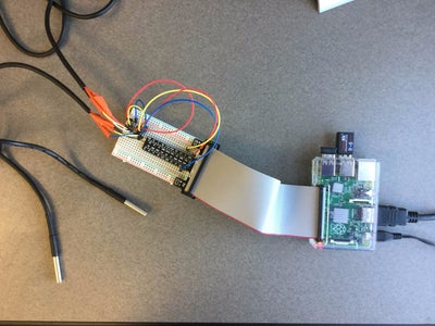 Sending Temperature Sensor Data to Azure Database