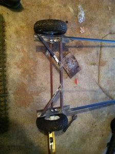 Wheel Assembly/Axle - Rear
