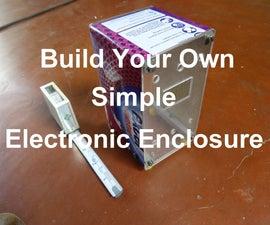 Simple DIY Electronic Enclosure