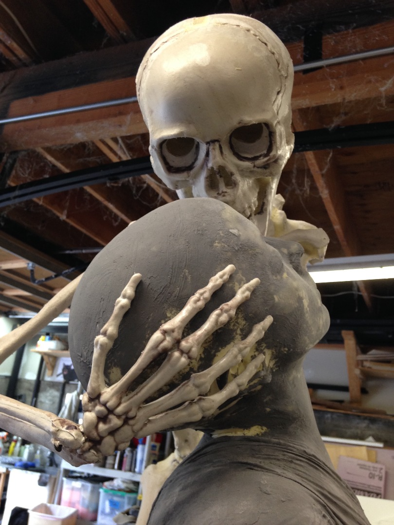 Picture of Skeleton Statue