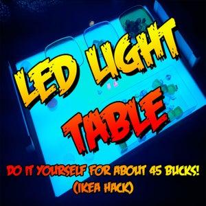 LED LIGHT TABLE - MESA DE LUZ LED