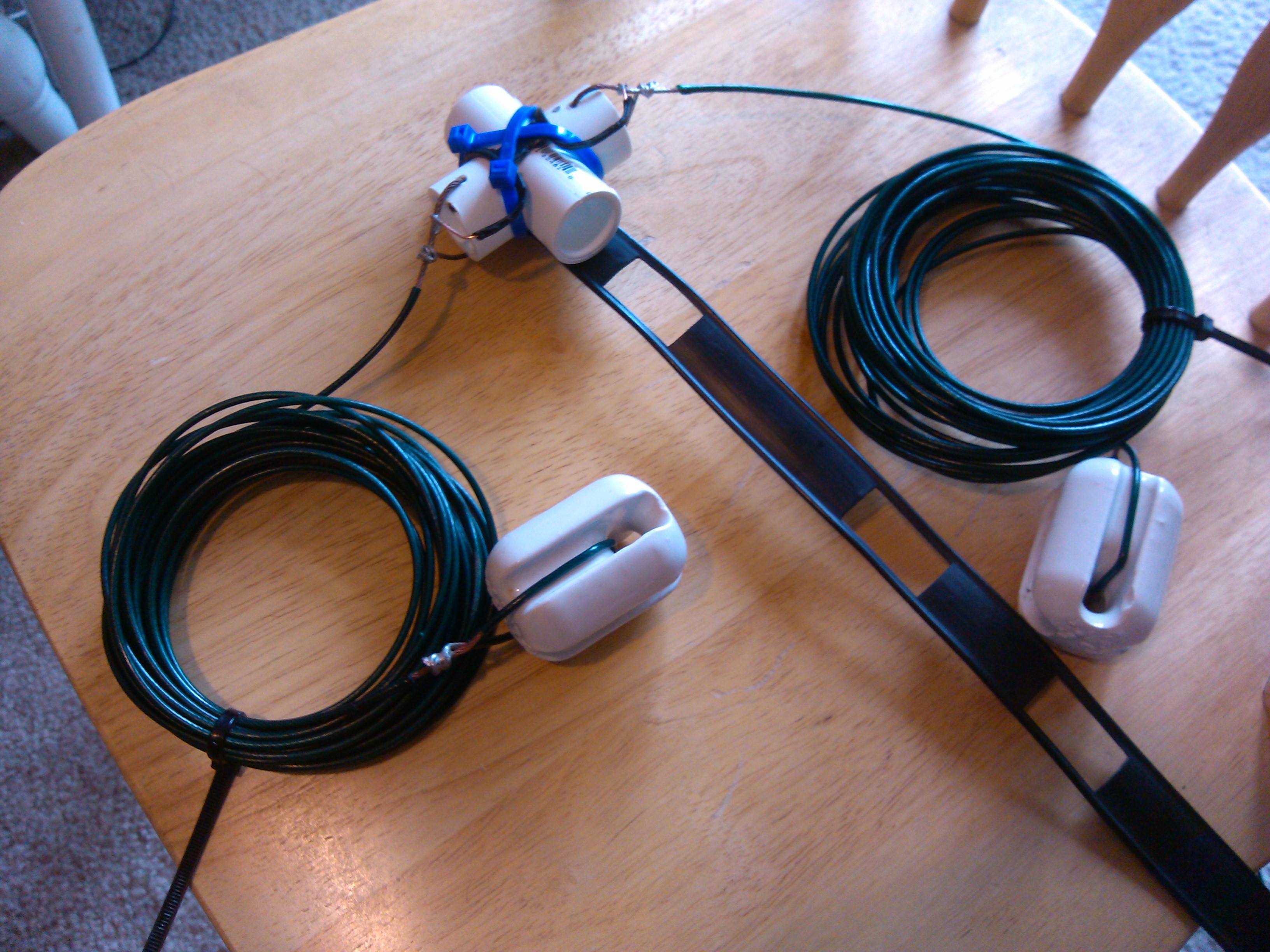 Half Wave Dipole Antenna Open Dipole