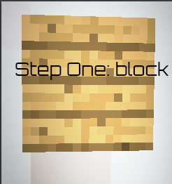 Picture of Idea Five: Step One Block