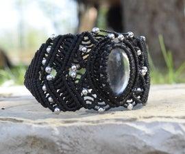 DIY Stylish Macramé Bracelet