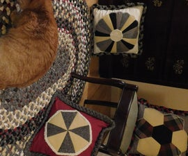 Heirloom Wool Cloth Braided Rug