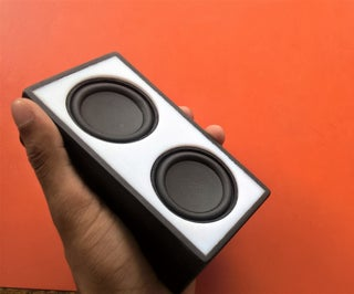 DIY Portable and Powerful Bluetooth Speaker