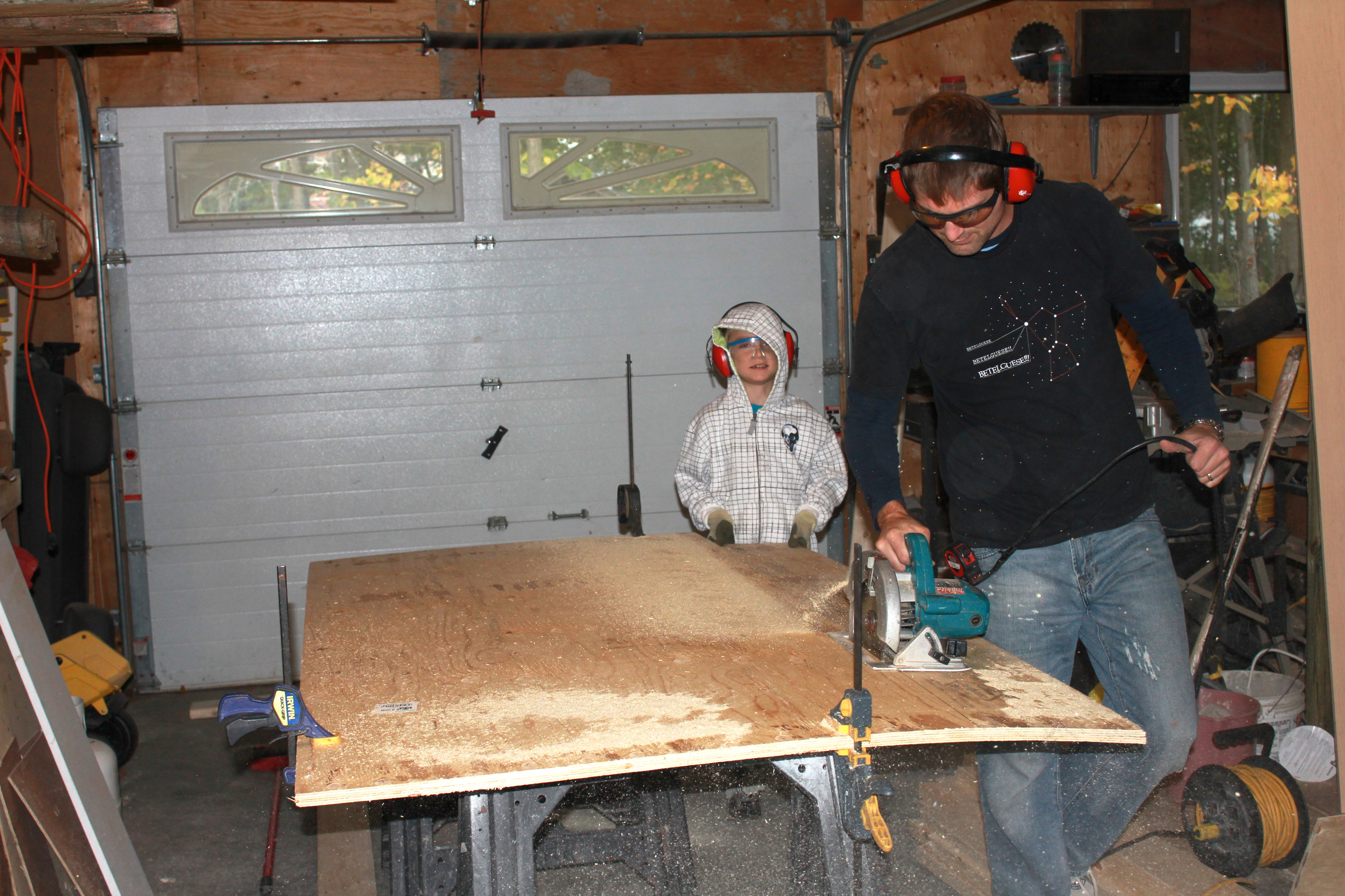 Picture of Cutting the Boards to Size
