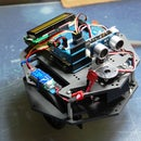 My Arduino Ping Display Robot