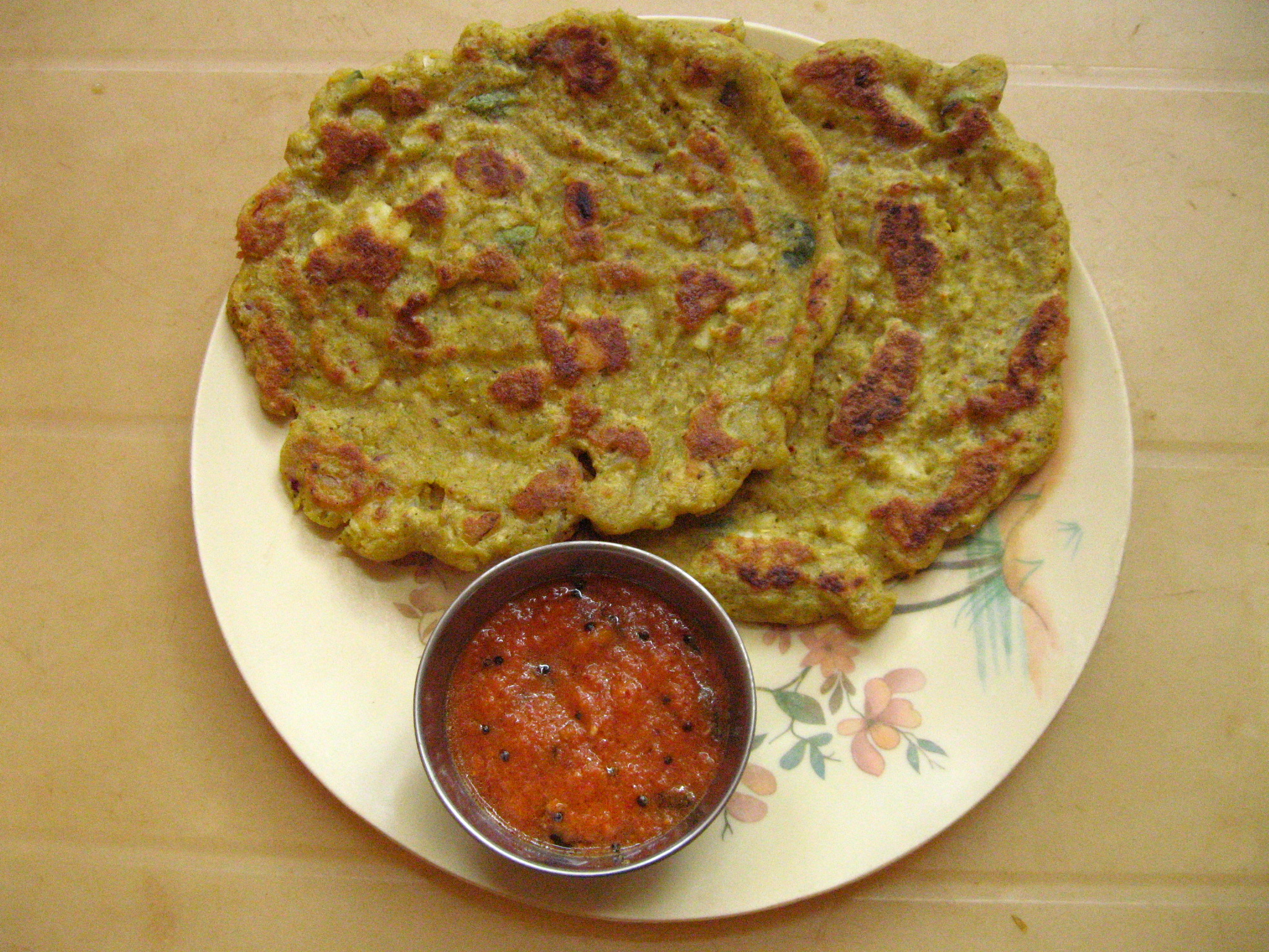Picture of Adai With Mixed Millet and Pulses