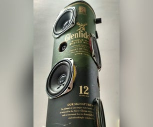 Whisky Case Bluetooth Portable Tower Speakers (40W)