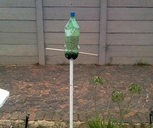 Soda bottle bird feeder