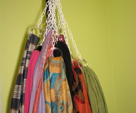 Hanging Scarf Cluster Storage