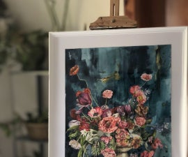 Tips to Make Perfect Watercolor Flowers