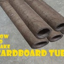 How to Make CARDBOARD TUBES