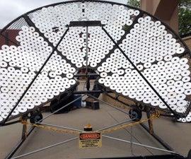 Solar George Foreman cooker