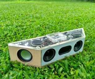 Hand Built Full Range Portable Bluetooth Speaker