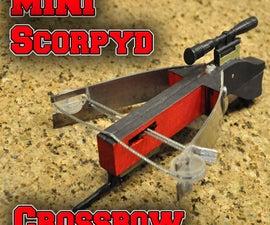 Mini Scorpyd Crossbow ! Insanely Powerful !