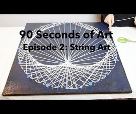 String Art: Heart Strings