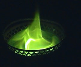 how to make green fire!!!
