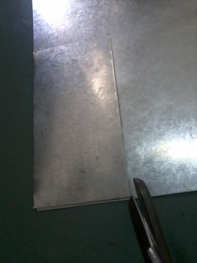 Picture of Cutting Sheet Metal