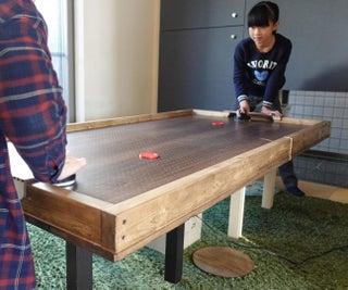 DIY Air Hockey Table Top