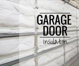 Garage Door Insulation // How to Install