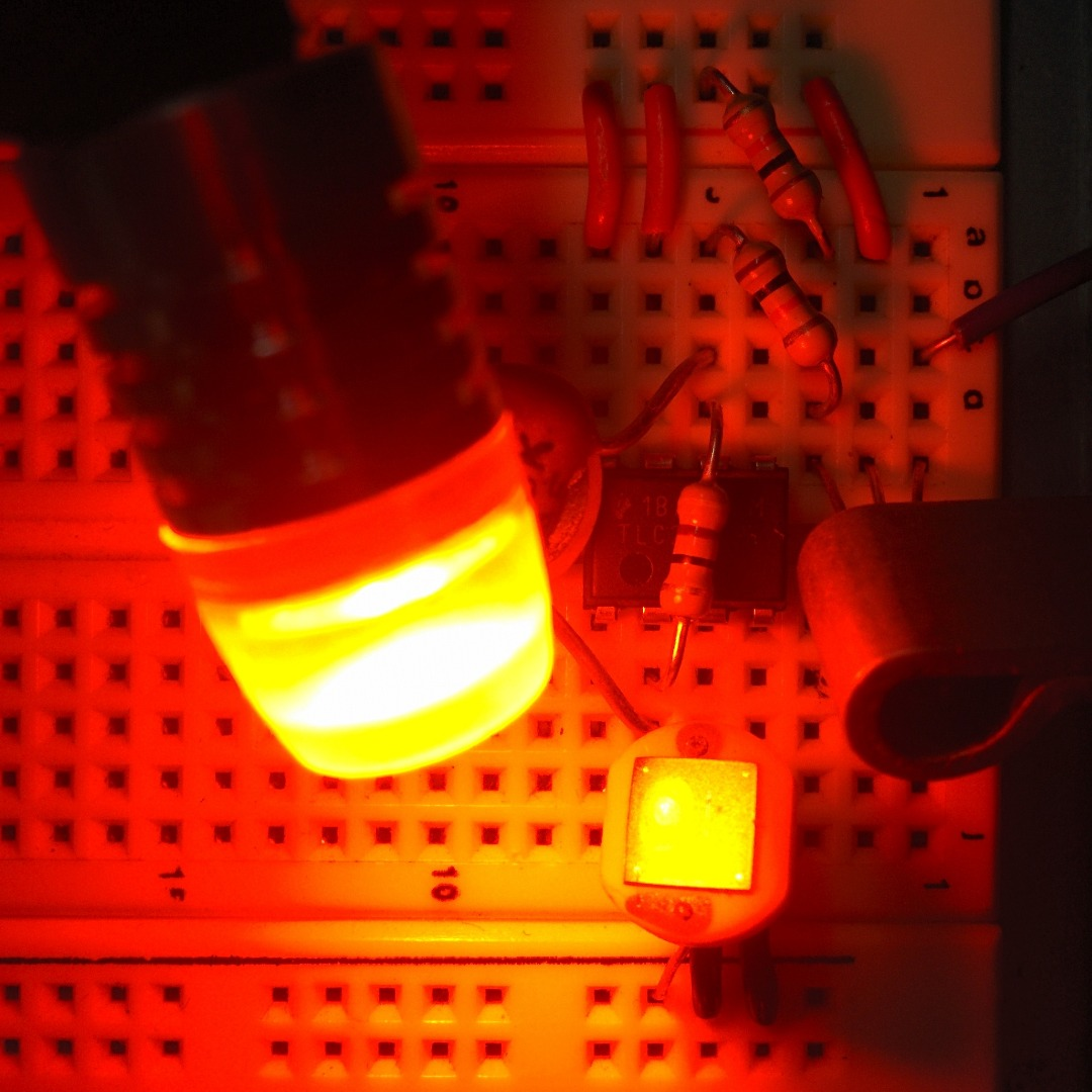 """Picture of Build the """"PHENOMENAmplifier"""" (Phenomenological Video Feedback Amplifier)"""