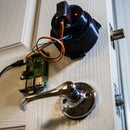 Raspberry Pi Smart Phone Connected Door Lock