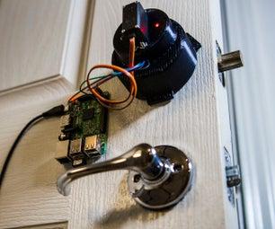 Raspberry Pi Smart Phone Connected Door Lock