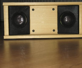 DIY: Wooden MP3 soundsystem
