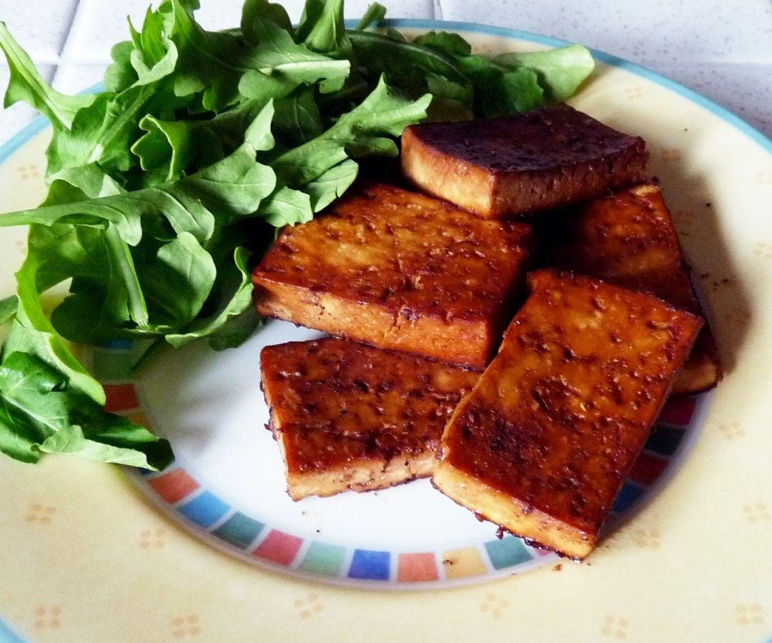 Savory Marinated Tofu
