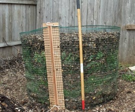 Cheasy (Cheap and Easy) Compost Bin