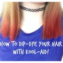 How to Dip-Dye Your Hair with Kool-Aid