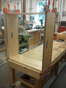 Gluing the Bookcase